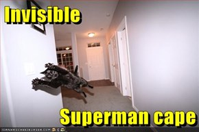Invisible  Superman cape