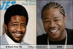 Al Green from 70s Totally Looks Like Xzibit