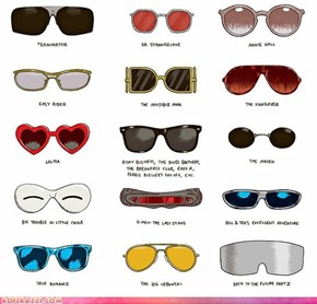 Iconic Movie Sunglasses