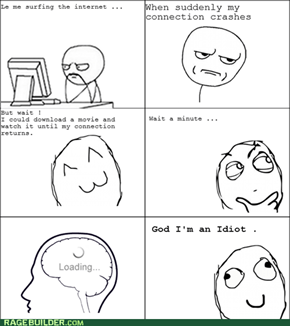 Rage Comics: I Guess I Could...Read?