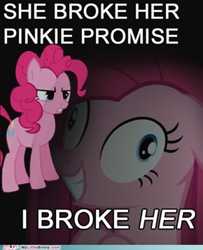 Post Pinkie Promise Stress Disorder