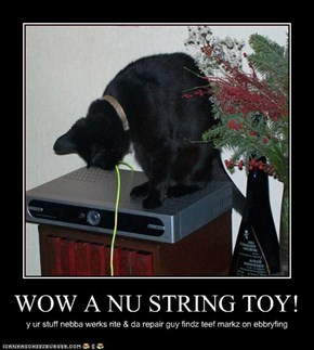 WOW A NU STRING TOY!