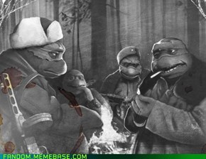 Sad Mutant Soldier Turtles