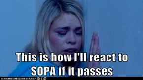 This is how I'll react to SOPA if it passes