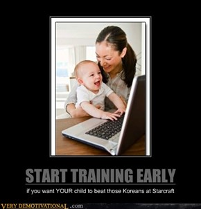 START TRAINING EARLY