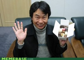 Miyamoto is 10% more badass. donuts!