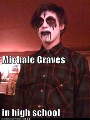 Michale Graves in high school