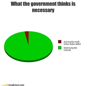 What the government thinks is necessary