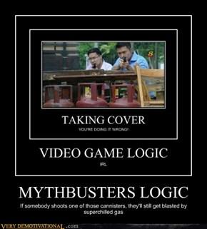 MYTHBUSTERS LOGIC