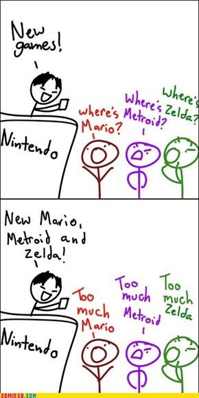 Nintendo Problems