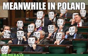 Polish Parliament Is Not Happy About ACTA