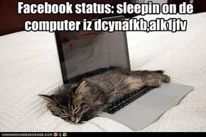 Facebook status: