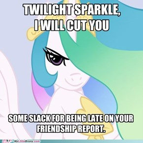 Good Intentions Celestia Cuts You