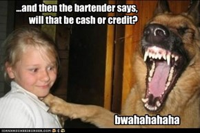 hysterical joke dog