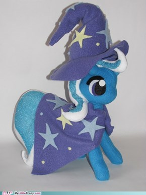 My little Pony Plush Trixie!