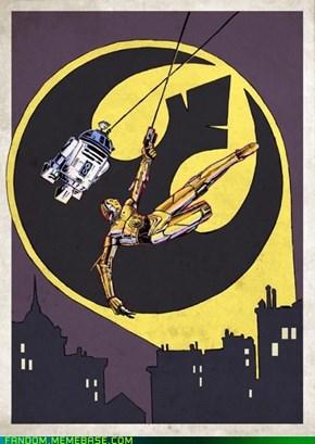 Bat droids
