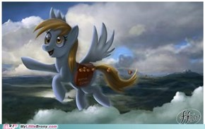 Derpy's muffin delivery service
