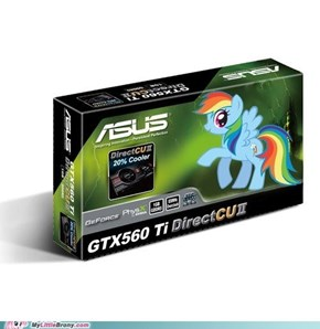 Rainbow Dash in SLI