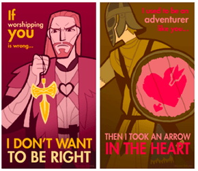 Skyrim Valentines of the Day
