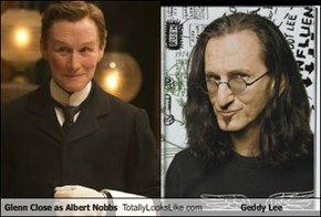 Glenn Close as Albert Nobbs Totally Looks Like Geddy Lee