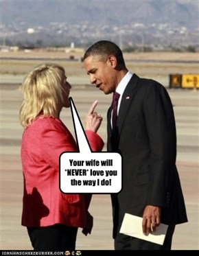 """The real reason why Obama leaves Jan Brewer """"breathless"""""""
