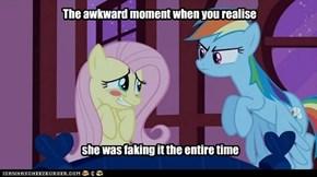 The awkward moment: