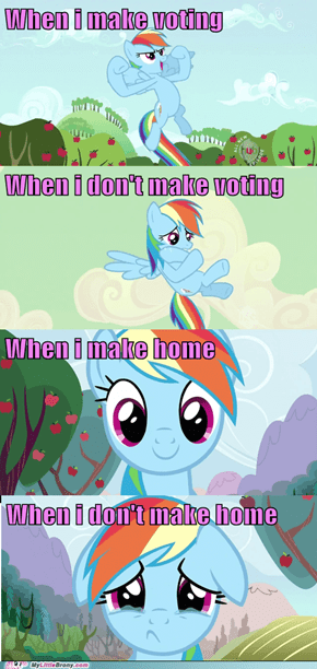 Rainbow Dash Reactions