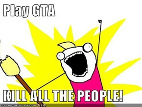 Play GTA  KILL ALL THE PEOPLE!