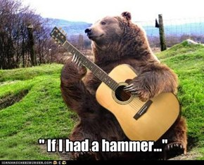 """ If I had a hammer..."""