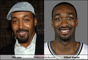 This guy Totally Looks Like Gilbert Arenas