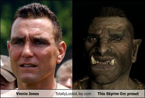 Vinnie Jones Totally Looks Like This Skyrim Orc Preset