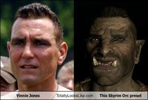 Vinnie Jones Totally Looks Like This Skyrim Orc Preset