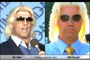 Ric Flair Totally Looks Like Will Ferrell