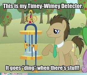 Timey-Wimey Detector