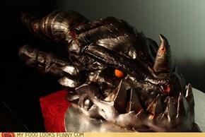 World of Warcraft Deathwing Cake