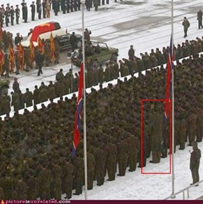 The Giant Soldier From North Korea