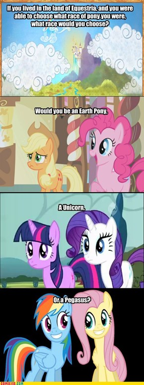 Alicorn Is Not an Option