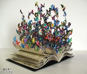 Book Sculpture WIN
