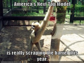 America's Next Top Model  is really scraping the barrel this year.