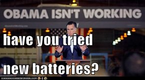have you tried new batteries?