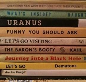 Art of Trolling: Take a Look, It's In a Book