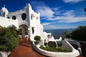 Gaudí-esque complex, Punta del Este, Uruguay