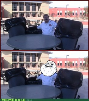 Forever Alone at its finest!