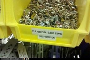 Random Screws