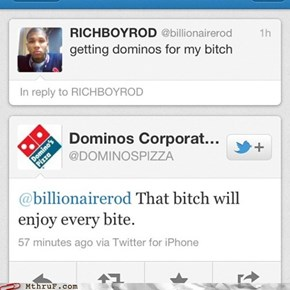 Good to see that Dominoes is looking out for its customers