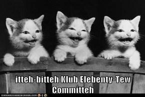 itteh-bitteh Klub Elebenty-Tew Committeh