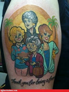 Ugliest Tattoos: Paying Homage to Classic Television