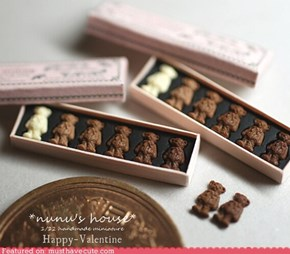 Tiniest Chocolate Bears