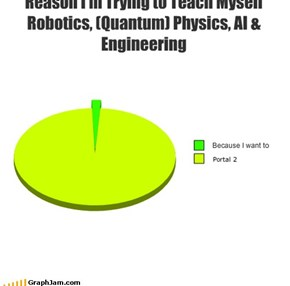 Reason I'm Trying to Teach Myself Robotics, (Quantum) Physics, AI & Engineering