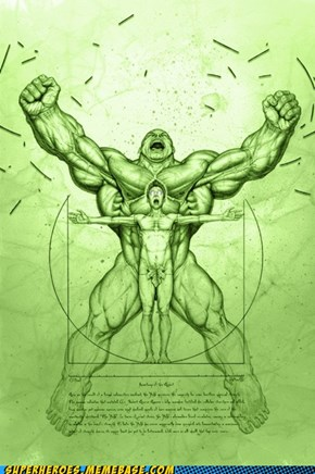 Who Knew Hulk Was That...Big...